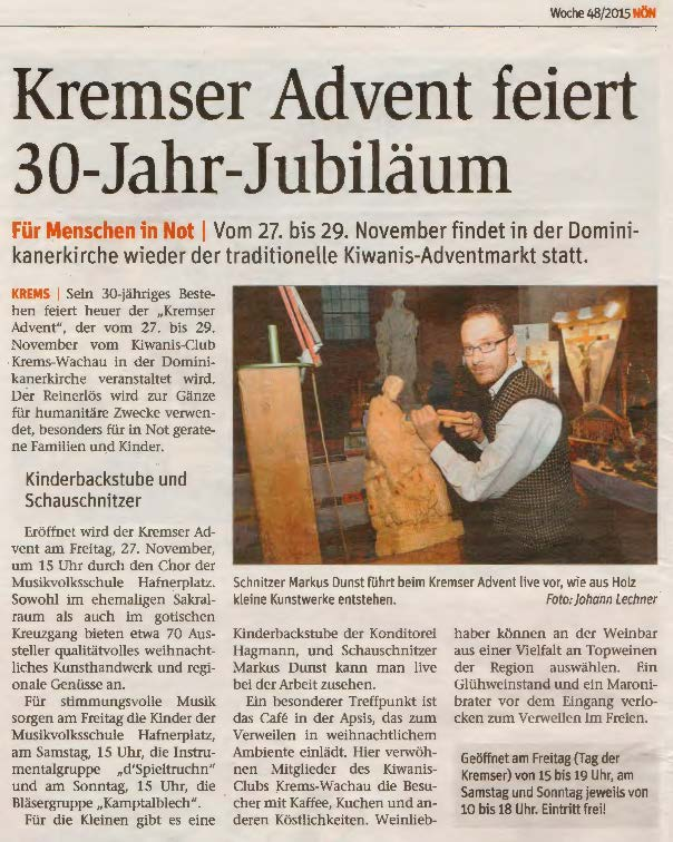 30 Kremser Advent